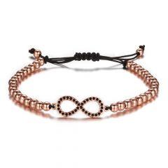 Brooks Woman Infinite Bracelet ROSE GOLD