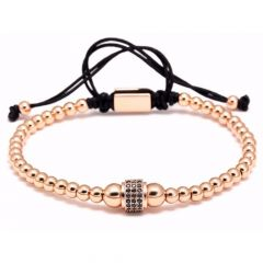 Brooks Zircon Rose Gold Bracelet
