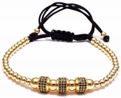 Brooks Cilinder Zircon Bracelet