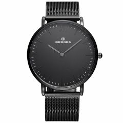 Ceas Brooks Extraplat All Black Mesh Strap
