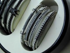 Luxury 4 Masterpiece Silver Bracelets