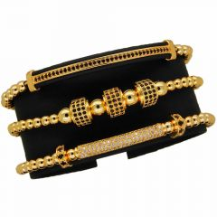 Brooks Luxury Women Bracelets Gold Plated