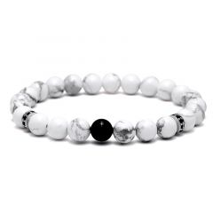 Brooks White Agate Stone for Men
