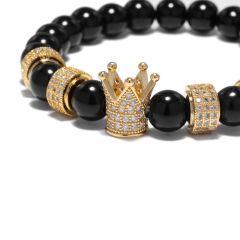 Brooks White Diamonds Gold Lady Crown