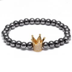 Crown Stone CZ Bracelet
