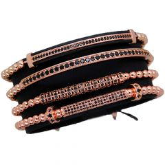 Luxury Set Rose Gold 14K Brooks Bracelets