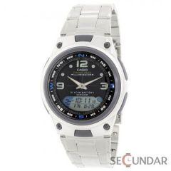 Ceas Casio Youth AW-82D-1AVDF Silver Analog & Digital Barbatesc