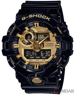 Ceas Casio G-SHOCK GA-710GB-1AER_x000D_ Antimagnetic Barbatesc