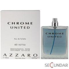 Azzaro  Chrome United EDT 100  Barbatesc Tester