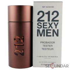 Carolina Herrera 212 Sexy Tester 100 ml EDT Men