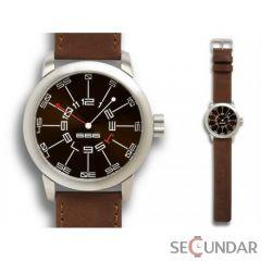Ceas 666Barcelona Adventure brown leather 8424210000803 Barbatesc