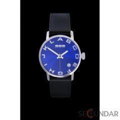 Ceas 666Barcelona Alphabet Blue Lady Leather 8424210002746 De Dama