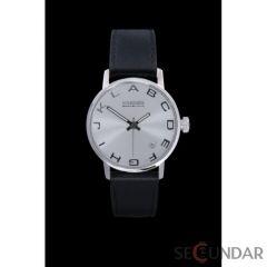 Ceas 666Barcelona Alphabet Silver Lady Leather 8424210002708 De Dama