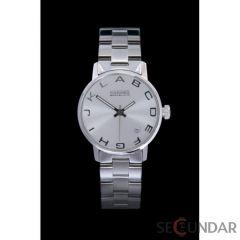 Ceas 666Barcelona Alphabet Silver Lady Steel 8424210002753 De Dama