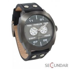 Ceas 666Barcelona Broke black grey 8424210002500 Barbatesc