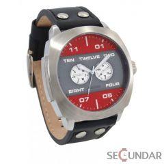Ceas 666Barcelona Broke red grey 8424210002524 Barbatesc