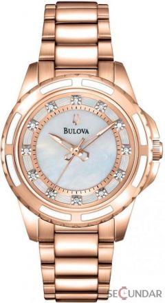 Ceas Bulova DIAMOND 98P141 de Dama