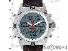 Ceas Detomaso DT1009-A Digital/Analog Silver Barbatesc