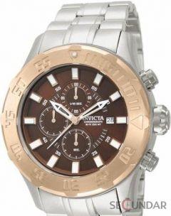 Ceas Invicta 13107 Pro Diver Chronograph Brown Dial Barbatesc