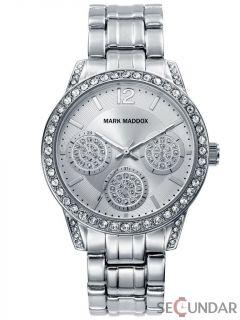 Ceas Mark Maddox Trendy Silver MM6009-87 de Dama