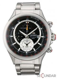 Ceas Orient Sporty Quartz Chronograph FTD0T005B0 Barbatesc