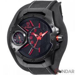 Ceas original  Detomaso Steppenwolf Black/Red DT-YG104-A  Barbatesc
