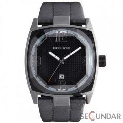 Ceas Police PL.12963JSB-02 Edge Black Leather Barbatesc
