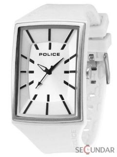 Ceas Police PL 13077MPWS-04 White Analog Sports Watch Barbatesc