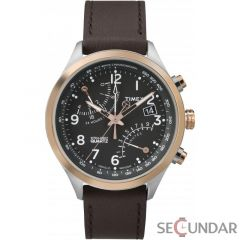 Ceas Timex Intelligent Quartz Fly-Back Chronograph TW2P73400 Barbatesc