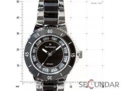 Ceas Yves Camani SIENNE YC1051-A Silver/Black de Dama