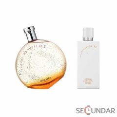 Hermes Eau Des Merveilles EDT 50ml+40ml ml de Dama