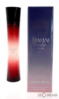 Parfum Armani Code Satin EDP 75 ml Tester de Dama