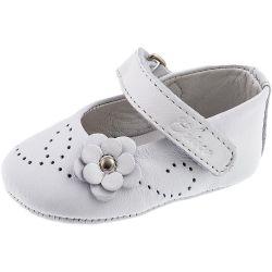 Balerini pentru bebelusi Chicco, alb, 18