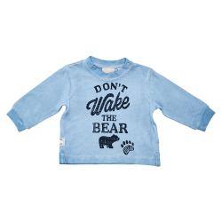 Bluza copii Chicco, albastru cu model, 06061