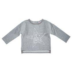 Bluza copii Chicco, gri cu model, 69195
