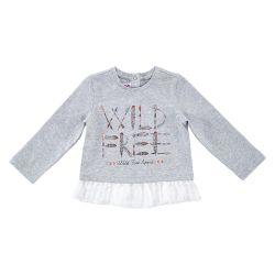 Bluza copii Chicco, gri deschis, 06131