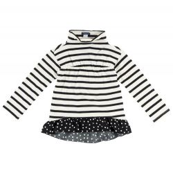 Bluza copii Chicco, maneca lunga, alb, 03104