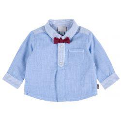 Camasa copii Chicco, blue deschis, 56