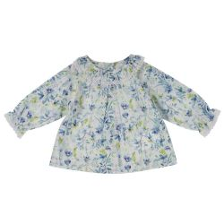 Camasa cu maneca lunga copii Chicco, fete, imprimeu floral, 06204