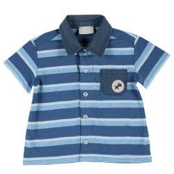 Tricou copii Chicco, jerse albastru deschis, 86
