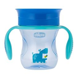 Canuta Chicco 360 Perfect Cup, Boy, 12luni+