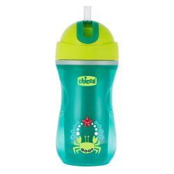 Canuta sport Chicco, cu pai, green, 14luni+