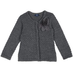 Cardigan copii Chicco, gri, 128