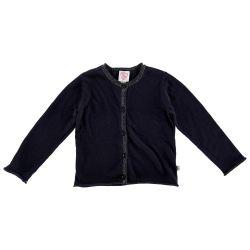Cardigan copii Chicco, tricotat, bleumarin, 96608