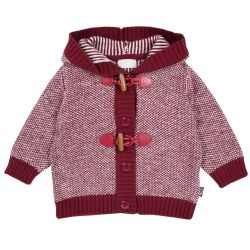 Cardigan copii Chicco, visiniu, 68
