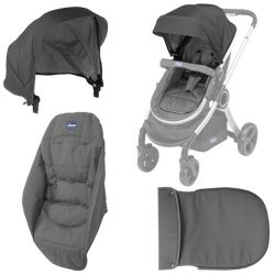 Color Pack Carucior Chicco Urban, Anthracite