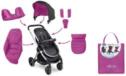 Color Pack Carucior Chicco Urban Winter Edition, Aurora