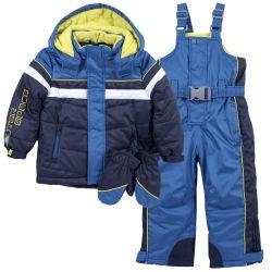 Costum ski copii Chicco, albastru deschis, 122