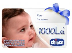 Cupon CADOU Chicco Gift Card 1000Lei