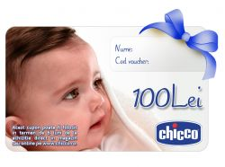 Cupon CADOU Chicco Gift Card 100Lei